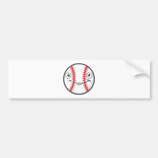 Happy Baseball Bumper Sticker