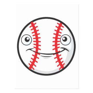Happy Baseball Postcard