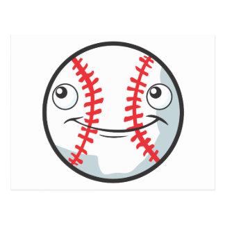 Happy Baseball Sports Ball Postcard