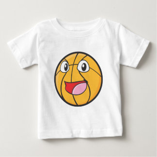 Happy Basketball Baby T-Shirt