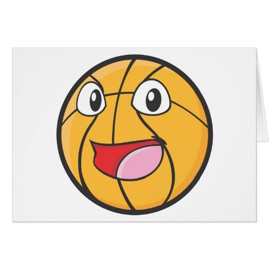Happy Basketball Card