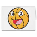 Happy Basketball Greeting Cards