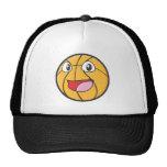 Happy Basketball Mesh Hats