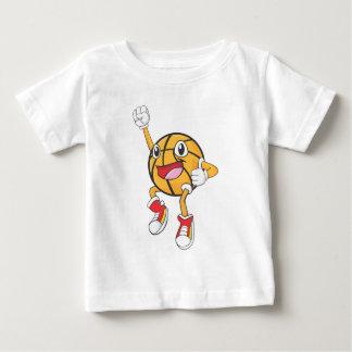 Happy Basketball Player Jumping T-shirt