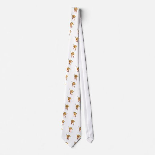Happy Basketball Player Jumping Tie