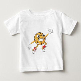 Happy Basketball Player Making a Block T Shirt