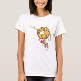 Happy Basketball Player Making a Layup T-Shirt