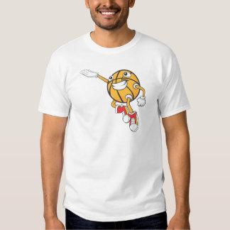 Happy Basketball Player Making a Layup T Shirt