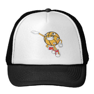 Happy Basketball Player Making a Layup Trucker Hat