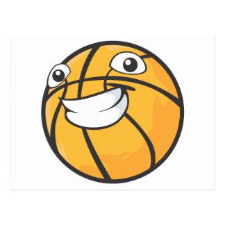 Happy Basketball Postcard