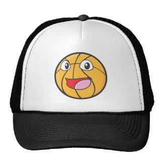 Happy Basketball Trucker Hat