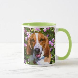 Happy Basset Hound Mug