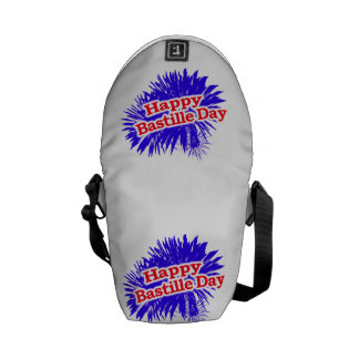 Happy Bastille Day Graphic Courier Bag