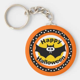 Happy Batty Halloween Keychain