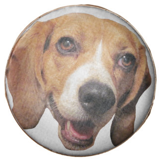 Happy Beagle Dog Chocolate Covered Oreo