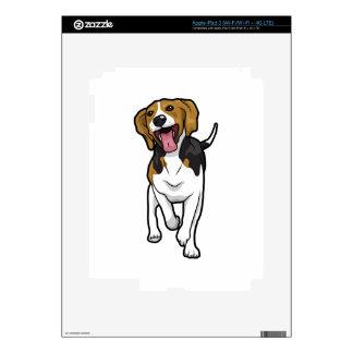 Happy Beagle iPad 3 Decals