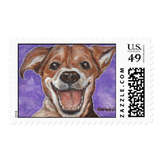 Happy Beagle Stamps