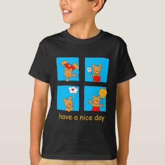 Happy Bear-Apparel T-Shirt