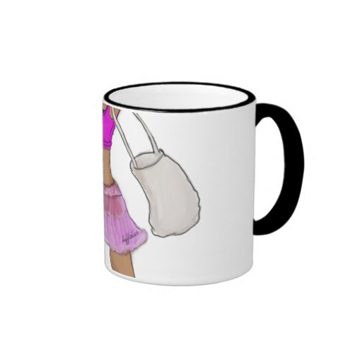 Happy Bear fight Coffee Mug