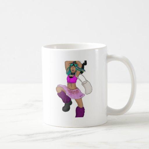 Happy Bear fight Mug