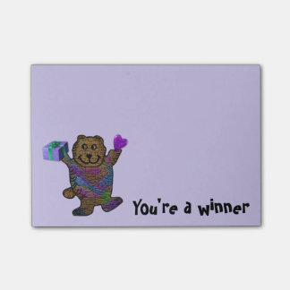 Happy Bear Post-it® Notes
