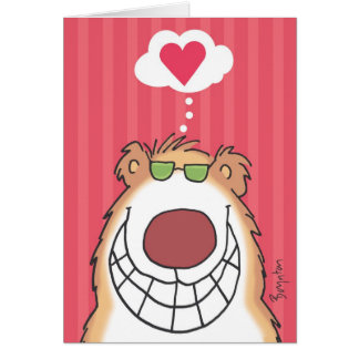 HAPPY BEAR Valentines by Boynton Card