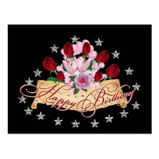 Happy Beautful Birthday!- Postcard