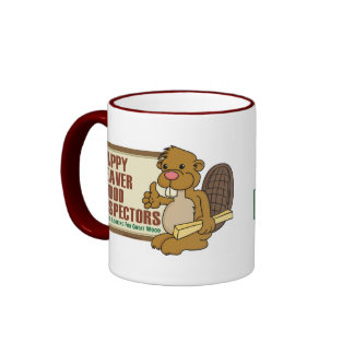 Happy Beaver Drinkware 1 Ringer Coffee Mug