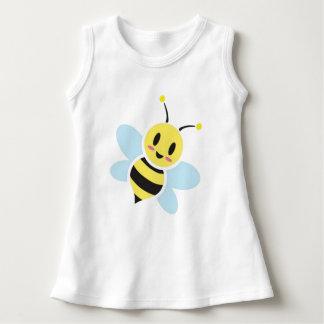 Happy Bee Baby Sleeveless Dress