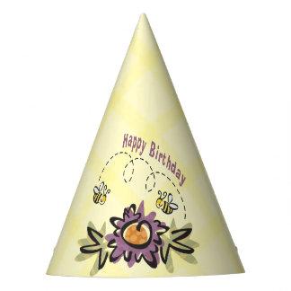Happy Bee Birthday! Birthday Party Hats