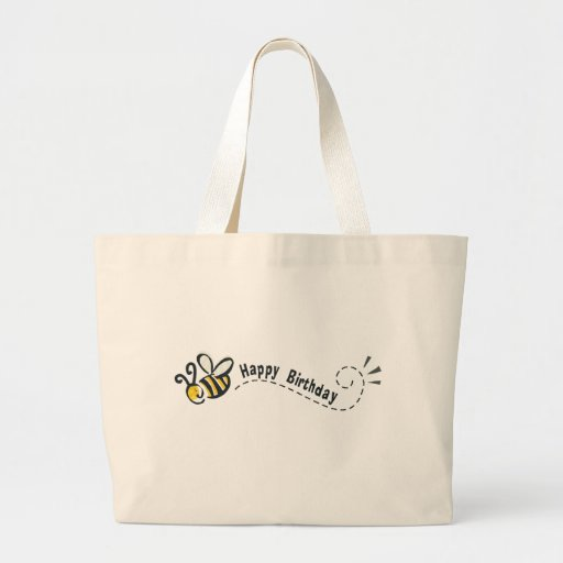 Happy Bee Birthday! Tote Bag