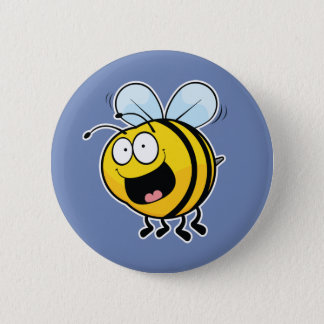 Happy Bee Button