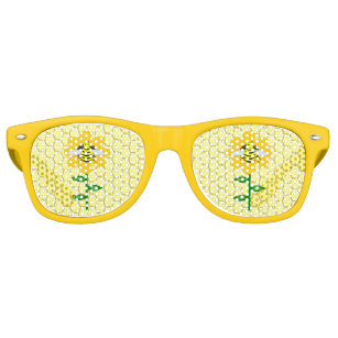afb9b5a17e8 Happy Bee Day Birthday Bumblebee Retro Sunglasses