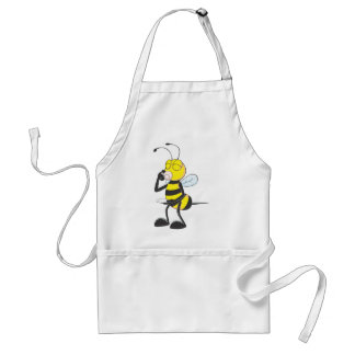 Happy Bee Drinking Aprons