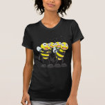 Happy Bee Family Having Fun Together T Shirt