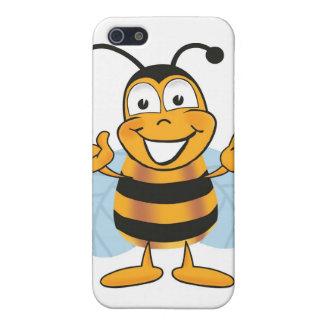 Happy Bee i phone 4 case iPhone 5 Cases