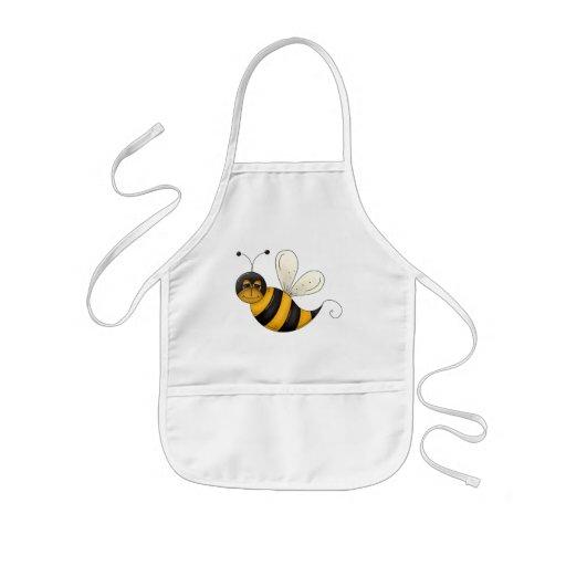 Happy Bee Kids' Apron