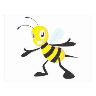 Happy Bee Post Card