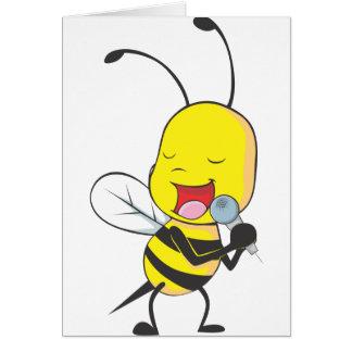 Happy Bee Singing Cards
