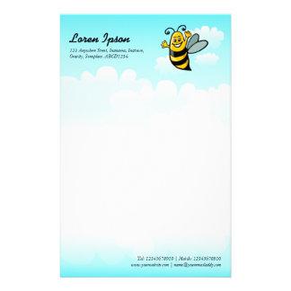 Happy Bee Customized Stationery