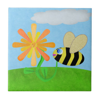 Happy Bee Tile