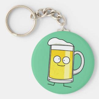 Happy Beer Mug Key Chains
