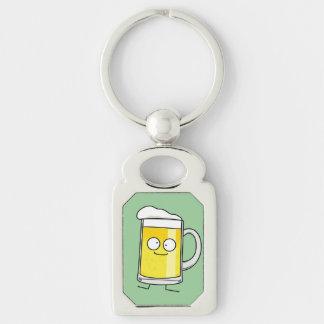 Happy Beer Mug Keychain