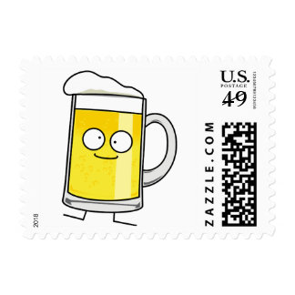 Happy Beer Mug Stamp