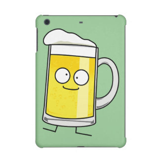 Happy Beer mug stein foam drunk happy alcohol iPad Mini Retina Cases