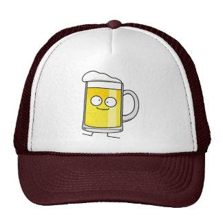 Happy Beer mug stein foam drunk happy alcohol Trucker Hat