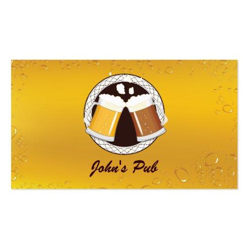 Liquor store business card templates bizcardstudio happy beer time pub business card colourmoves