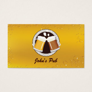 Happy Beer Time Pub Business Card
