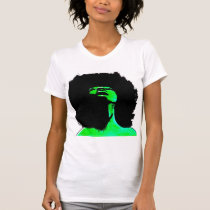 afro, woma, big, hair, african, urban, Shirt with custom graphic design