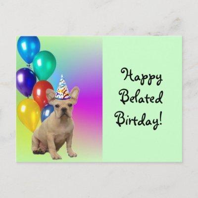 Belated Happy Birthday In Spanish
